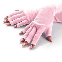 Rękawice Ochronne Do Lampy Uv Różowe