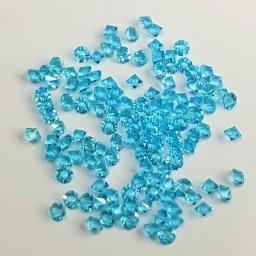 19 Kryształki Do Zdobień Lazurowe 2 g
