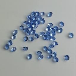 20 Kryształki Do Zdobień Błękitne 2 g