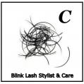 Rzęsy Jedwabne   Profil C Grubość 0,20. Długość 11 mm. Blink Lash Stylist & Care.