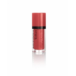BOURJOIS ROUGE EDITION VELVET MATOWA POMADKA DO UST 04 Peach Club