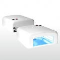 Lampa UV 36w Kwadratowa Biała + 4 żarówki