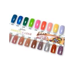 Wzornik ręcznie malowany Sweets & Love - 18 kolorów