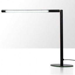 Lampka na biurko LED 4W - rurka - czarna