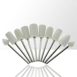 Zestaw 13 frezów filcowych do polerowania