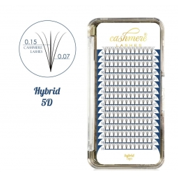Cashmere Lashes Hybrid 5D C mix