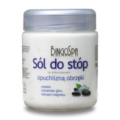 Sól do Stóp ze Skłonnościami do Ból , Opuchlizna , Obrzęki BingoSpa 550 g