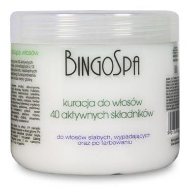 Kuracja do włosów z 40 aktywnych składników BingoSpa 500 g