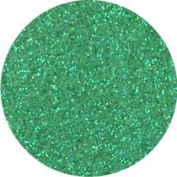 Brokat Zielony Irys 0.2 mm. Pojemność Słoiczka 5 ml.
