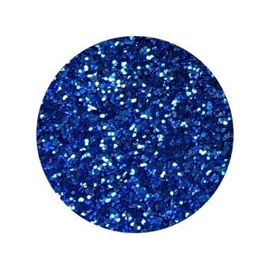 Brokat Niebieski 0.2 mm. Pojemność Słoiczka 5 ml.
