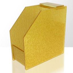 Stojak na szablony - formy wąskie - złoty
