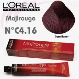 L'OREAL - MAJIROUGE NR C4.16 farba do włosów 50 ml