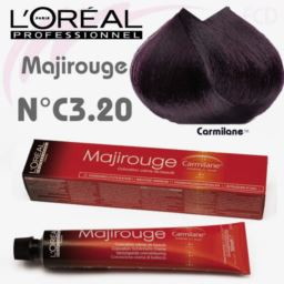 L'OREAL - MAJIROUGE NR C3.20 farba do włosów 50 ml