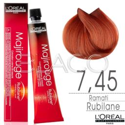 L'OREAL - MAJIROUGE NR 7,45 farba do włosów 50 ml
