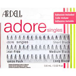 Ardell Adore Singles Knot Free Combo Pack - 48 szt