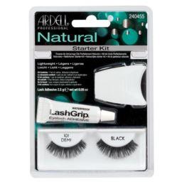 Zestaw Ardell Natural Lashes Starter Kit Black 101
