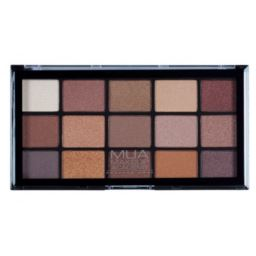 MUA Palette Au-naturel Paleta 15 cieni do powiek