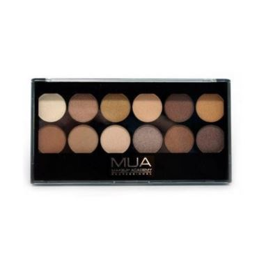 MUA - Paleta 12 cieni do powiek Heaven and Earth