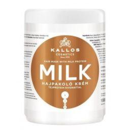 KALLOS MILK maska mleczna do włosów 1000ml