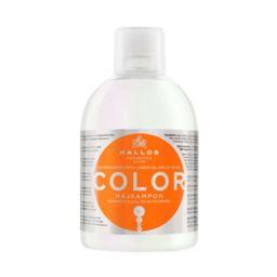 Kallos KJMN Color Szampon 1L do włosów farbowanych