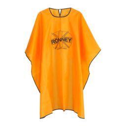 RONNEY Profesjonalna peleryna fryzjerska pomarańcz