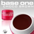 Żel UV Base One Color Choco Brown 5g