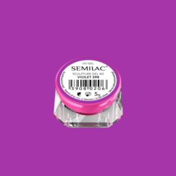 598 Semilac Sculpture Gel 4D Violet 5 g