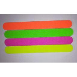 Pilnik papierowy kolorowy prosty 180/240