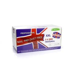 Ronney Nail Pad Dust Free Waciki bezpyłowe 2x500