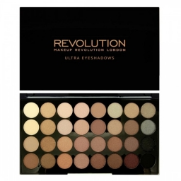 Makeup Revolution Ultra 32 Eyeshadow Palette Flawless Matte - paleta cieni do powiek