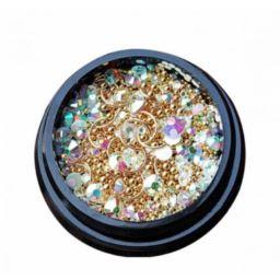 Mix of luxurious jewelry 01