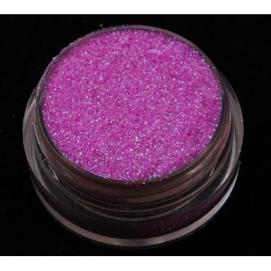 Brokat Różowy Irys 0.2 mm. Pojemność Słoiczka 5 ml.