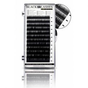 RZĘSY MIX BLACK LASHES D 0,10 MIX 8-14 MM
